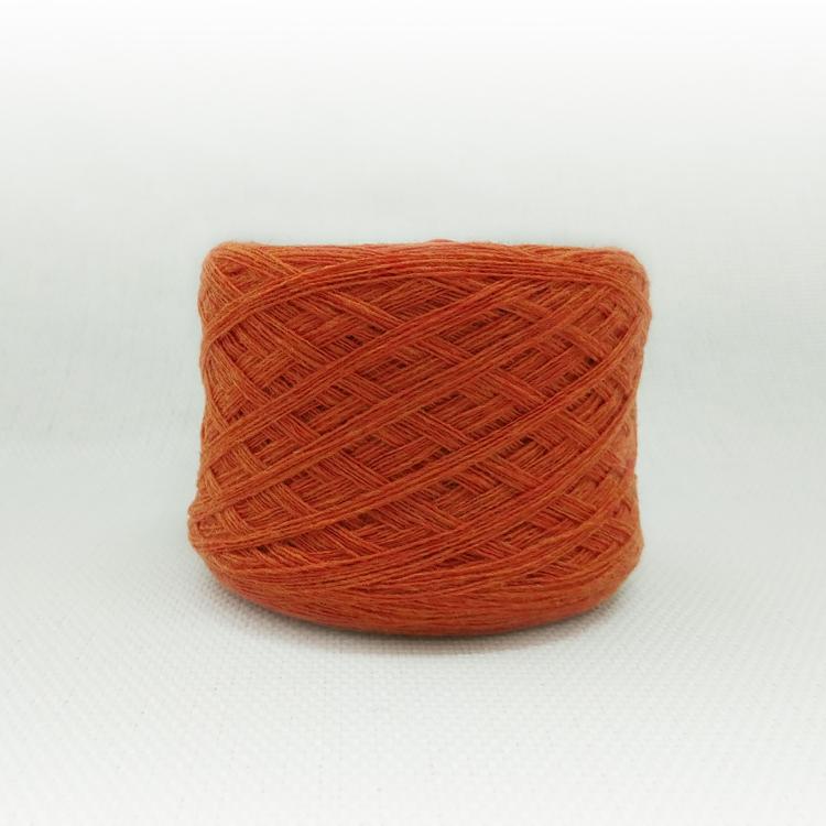 램스울 L312. 오렌지 멜란지/블랭킷, 모티브, 인형실, 소품실, 손뜨개, 털실